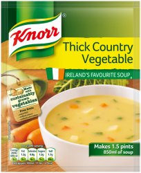 Knorr Soup Thick Country Vegetable/ Oxtail Soup/ Thick Chicken Soup